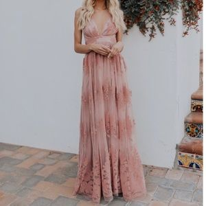 Antonia Maxi Dress Mauve